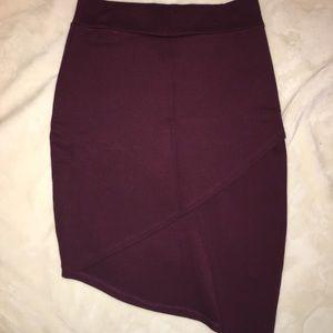 Dresses & Skirts - 🎁Burgundy skirt
